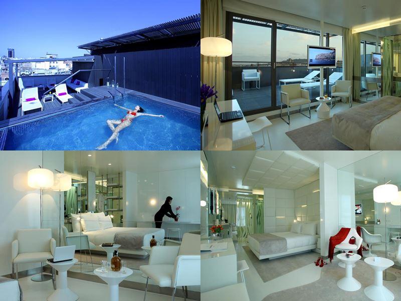 Отели Барселоны с бассейном на крыше - The Mirror Hotel (4 звёзд)