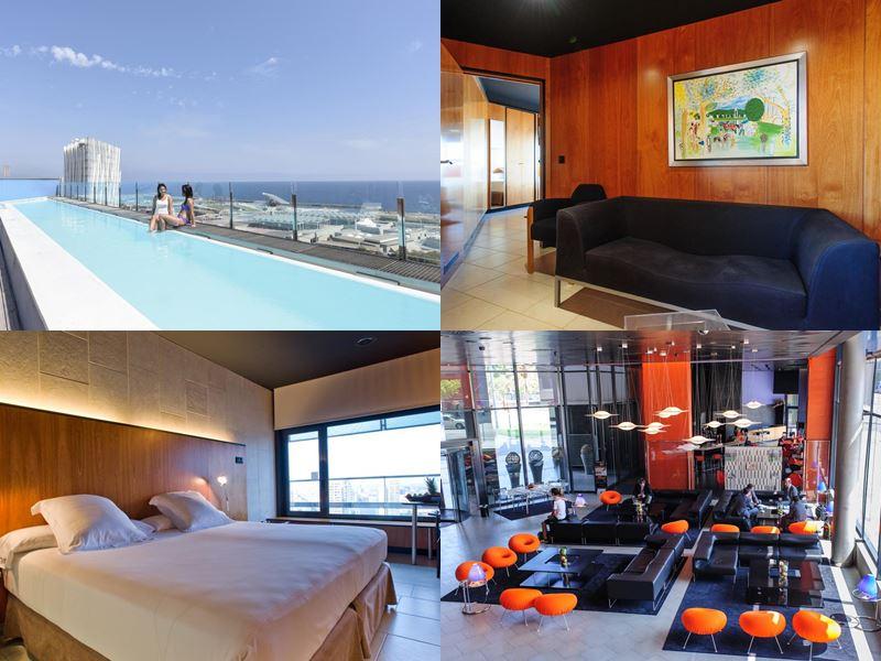 Отели Барселоны с бассейном на крыше - Hotel Barcelona Princess (4 звезды)