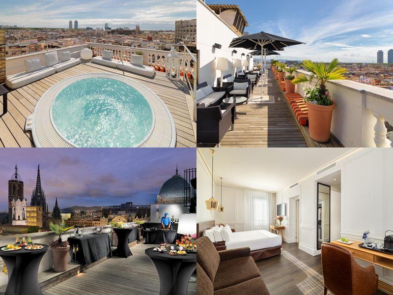 Отели Барселоны с бассейном на крыше - H10 Montcada Boutique Hotel (4 звезды)