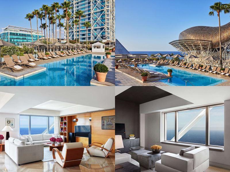 Отели Барселоны с бассейном на крыше - Hotel Arts (5 звёзд)