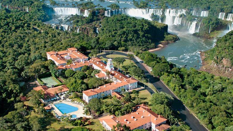 Отель Belmond Hotel Das Cataratas у водопада Игуасу, Бразилия