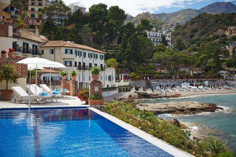 Отель Belmond Villa Sant'Andrea в Таормине, остров Сицилия, Италия