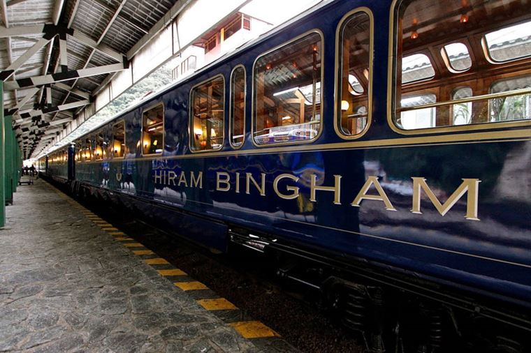 Роскошный поезд Belmond Hiram Bingham в Перу
