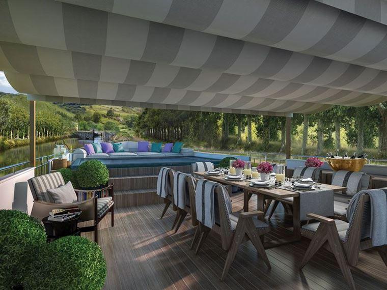 Новые баржи Belmond для путешествия по Эльзасу и Шампани, Франция