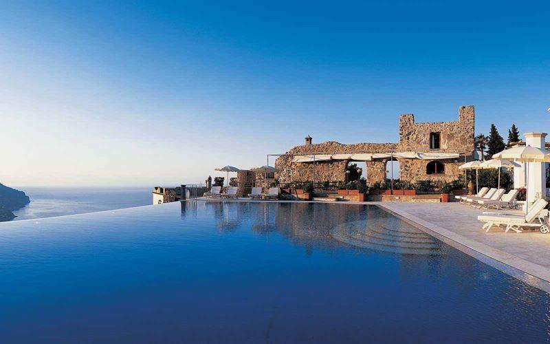 Отели с панорамными бассейнами инфинити - Belmond Hotel Caruso (Италия, Равелло)