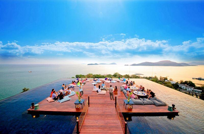 Отели с панорамными бассейнами инфинити - Baba Nest, Sri Panwa Phuket (Таиланд, о. Пхукет)