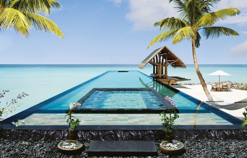 Отели с панорамными бассейнами инфинити - One & Only Reethi Rah (Мальдивские острова, Мале)