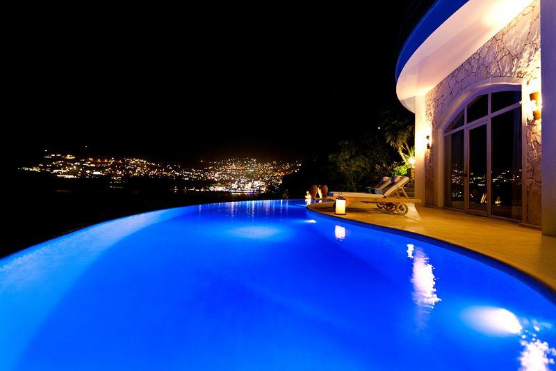 Отели с панорамными бассейнами инфинити - Hotel Villa Mahal (Турция, Калкан)
