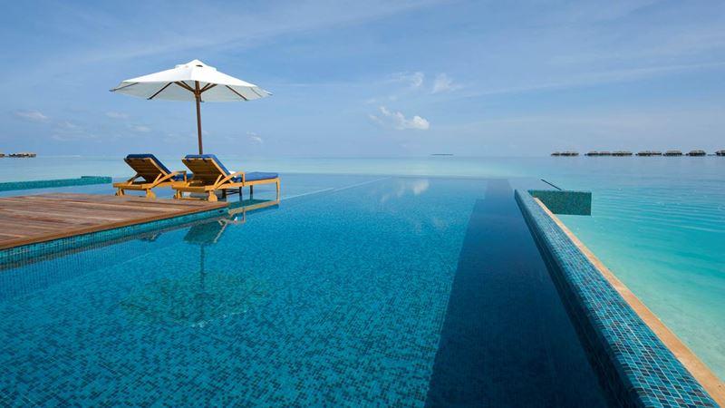 Отели с панорамными бассейнами инфинити - Conrad Maldives Rangali Island (Мальдивы)