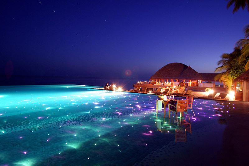 Отели с панорамными бассейнами инфинити - Huvafen Fushi, by PER AQUUM Retreat (Мальдивы)