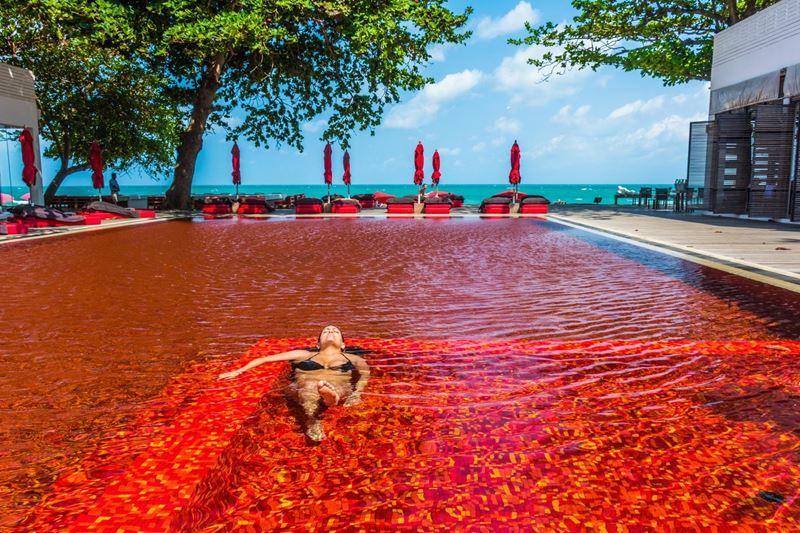 Отели с панорамными бассейнами инфинити - The Library (Таиланд, о. Ко Самуи)