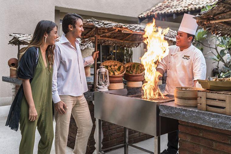 Курортный отель Shangri-La's Hambantota Golf Resort & Spa - прогулка для молодожёнов