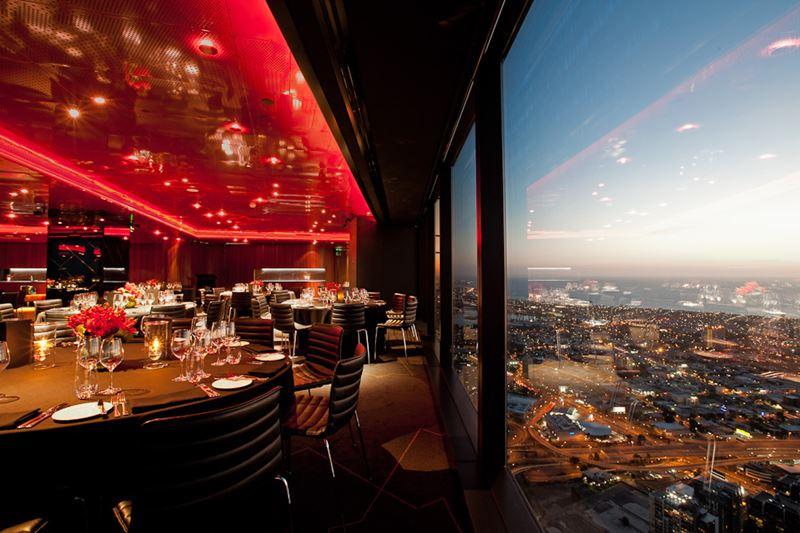 Высокие панорамные рестораны: Eureka 89 в башне «Эврика» (Мельбурн, Австралия)
