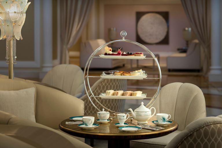 Waldorf Astoria Ras Al Khaimah - послеобеденное чаепитие