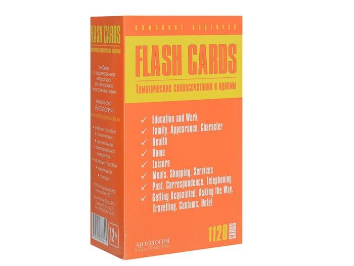 Английские идиомы: учебные пособия - «Flash Cards: Тематические словосочетания и идиомы»