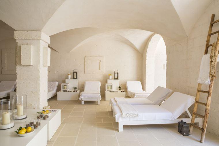Отель Borgo Egnazia в Апулии , Италия - спа-салон