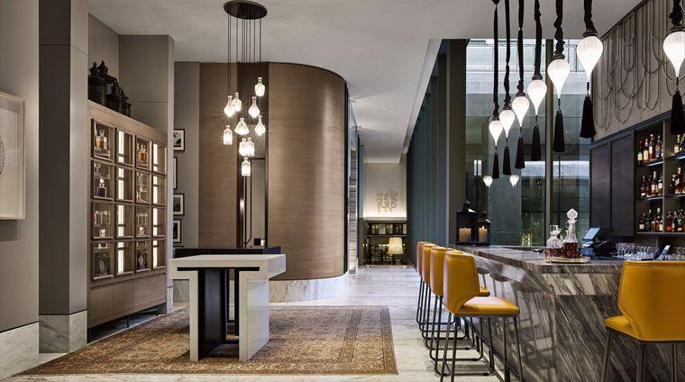 Fairmont Quasar Istanbul - отель 5 звёзд в Стамбуле, Турция - The Marble Bar
