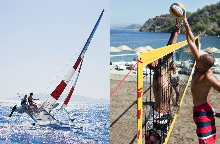 Новые предложения в Hillside Beach Club в Фетхие (Турция) - вейкбординг и пляжный волейбол