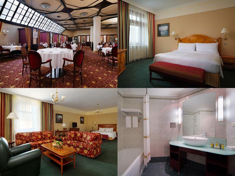 Красивые и дорогие отели Москвы 5 звёзд - Marriott Grand Hotel