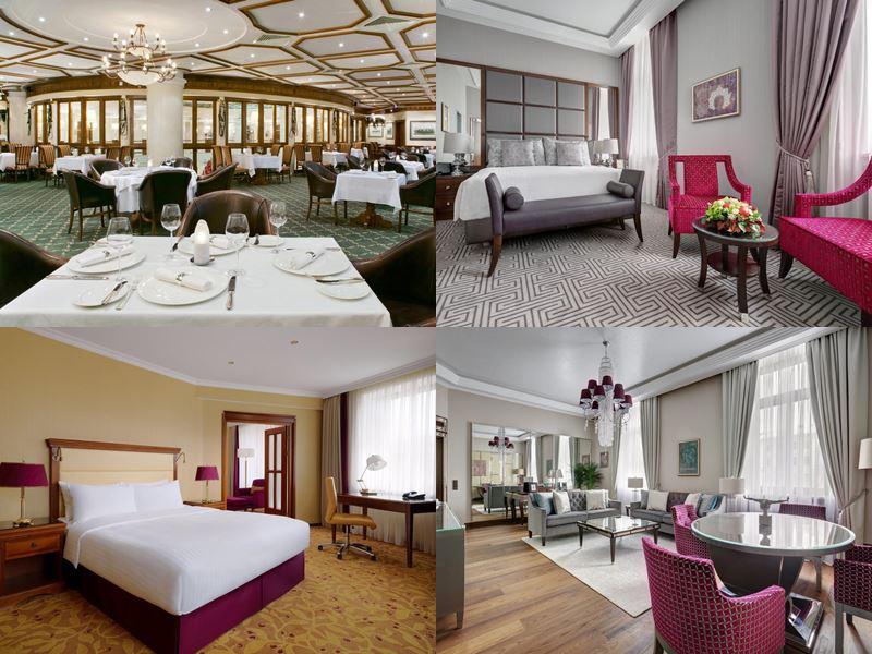 Красивые и дорогие отели Москвы 5 звёзд - Marriott Moscow Royal Aurora