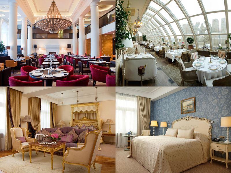 Красивые и дорогие отели Москвы 5 звёзд - Radisson Royal Hotel Moscow