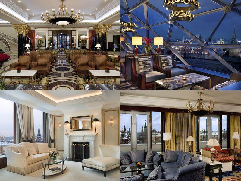 Красивые и дорогие отели Москвы 5 звёзд - The Ritz-Carlton
