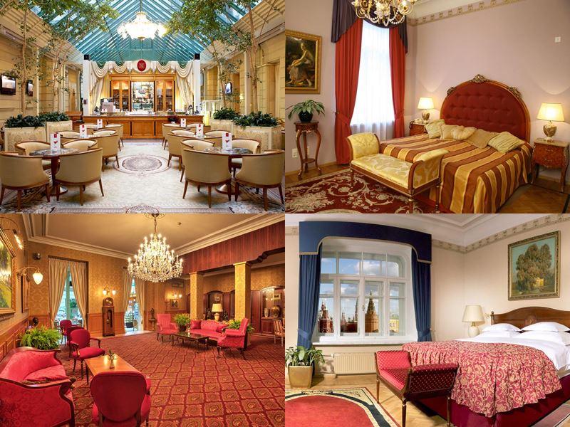 Красивые и дорогие отели Москвы 5 звёзд - «Националь»