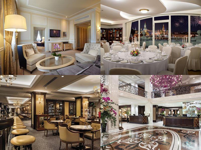 Красивые и дорогие отели Москвы 5 звёзд - Балчуг Кемпински