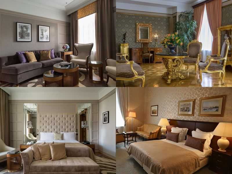 Красивые и дорогие отели Москвы 5 звёзд - «Метрополь»