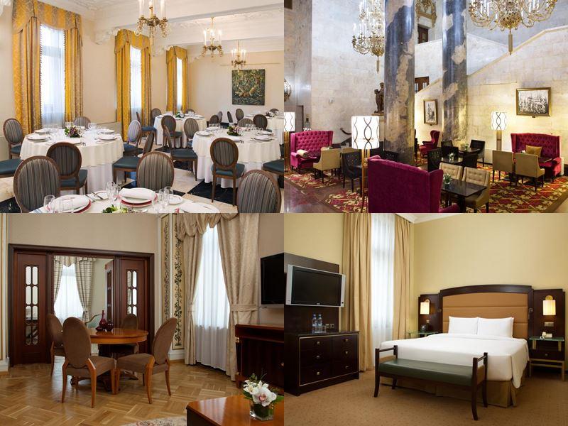 Красивые и дорогие отели Москвы 5 звёзд - Hilton