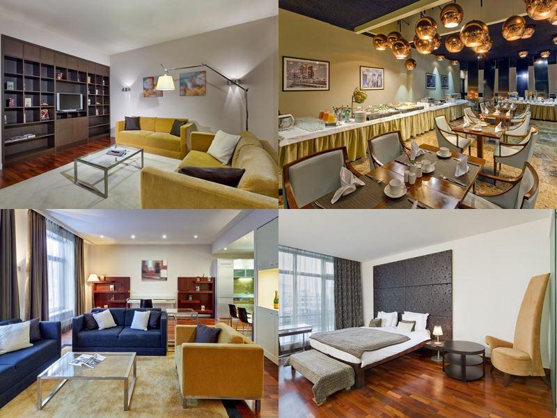 Красивые и дорогие отели Москвы 5 звёзд - Mamaison All-Suites Spa