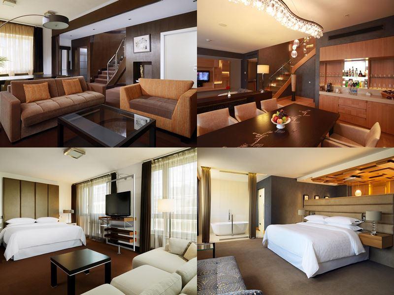 Красивые и дорогие отели Москвы 5 звёзд - Sheraton Palace