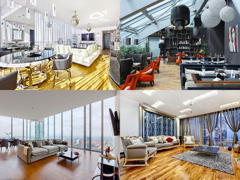 Красивые и дорогие отели Москвы 5 звёзд - Sky Apartments Москва Сити