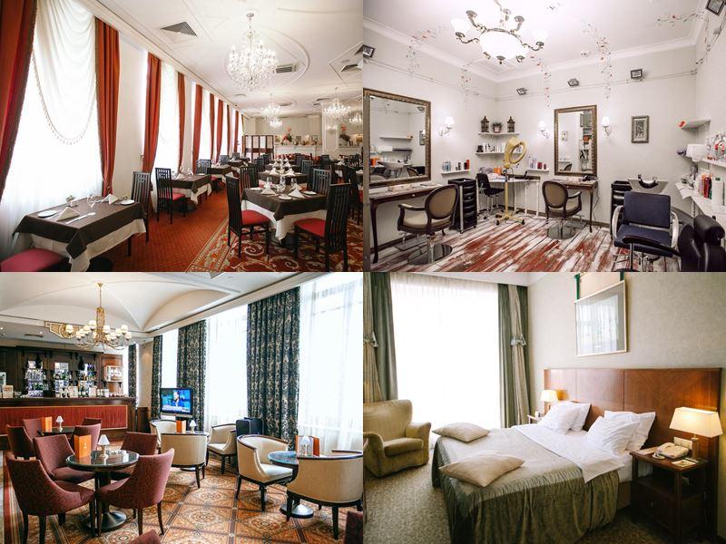 Красивые и дорогие отели Москвы 5 звёзд - «Петр I»