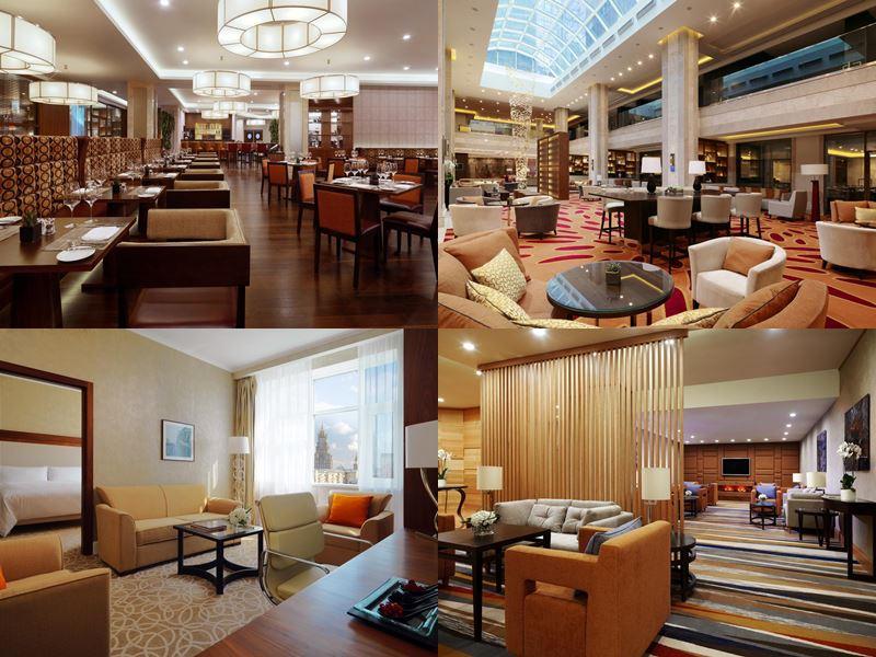 Красивые и дорогие отели Москвы 5 звёзд - «Марриотт Новый Арбат»