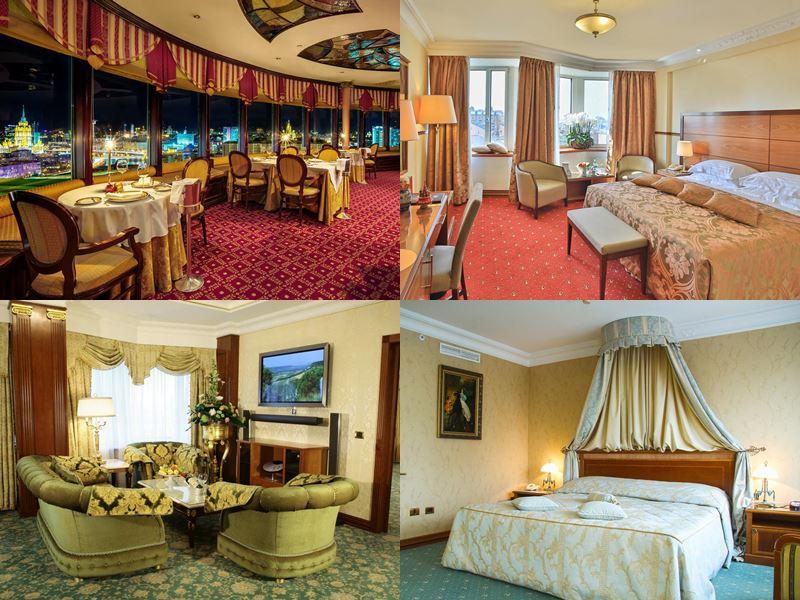Красивые и дорогие отели Москвы 5 звёзд - «Золотое кольцо»