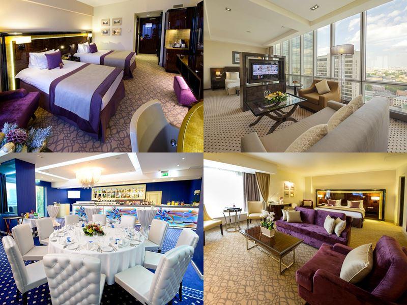 Красивые и дорогие отели Москвы 5 звёзд - Crowne Plaza