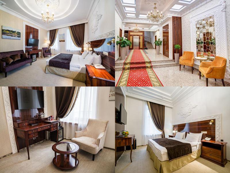 Красивые и дорогие отели Москвы 5 звёзд - «Садовническая»
