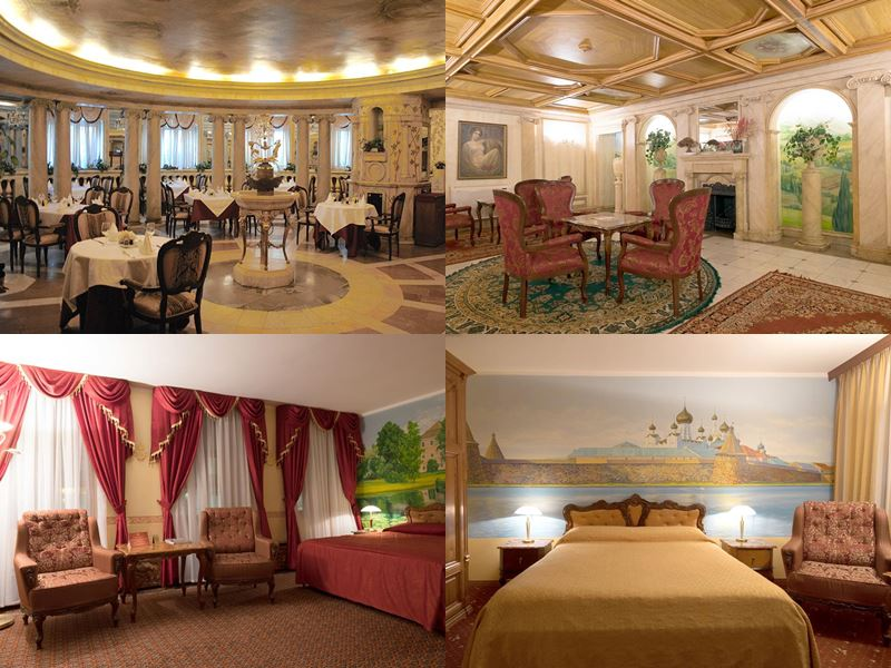 Красивые и дорогие отели Москвы 5 звёзд - «Клуб-27»