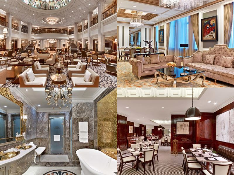 Красивые и дорогие отели Москвы 5 звёзд - The St. Regis Москва Никольская