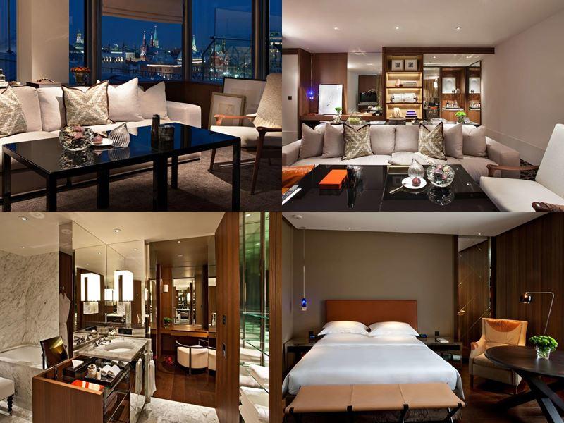 Красивые и дорогие отели Москвы 5 звёзд - Ararat Park Hyatt