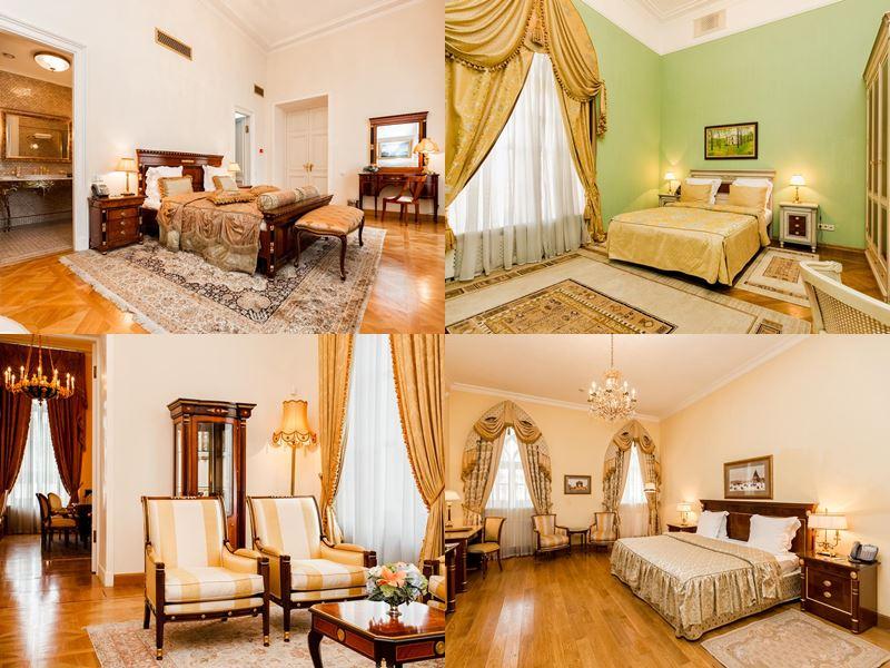 Красивые и дорогие отели Москвы 5 звёзд - Бутик-отель «Петровский Путевой Дворец»