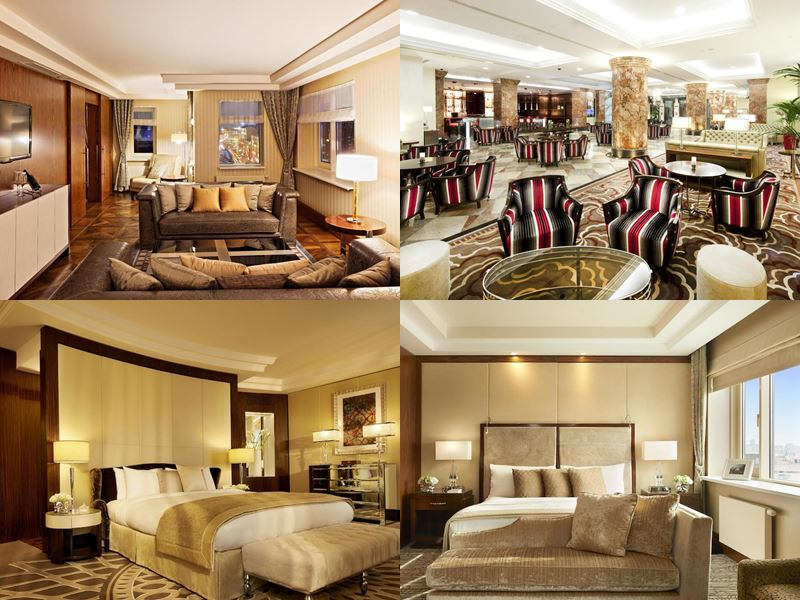 Красивые и дорогие отели Москвы 5 звёзд - InterContinental