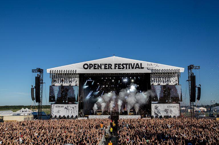 Музыкальный фестиваль Open'er в Гдыне (июль 2018)