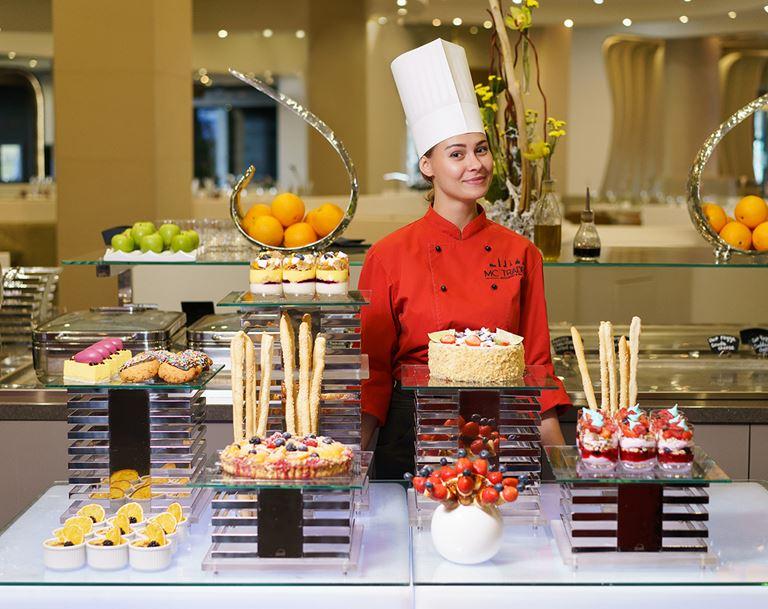 Гастрономические предложения от ресторана MC Traders  отеля Novotel Москва Сити