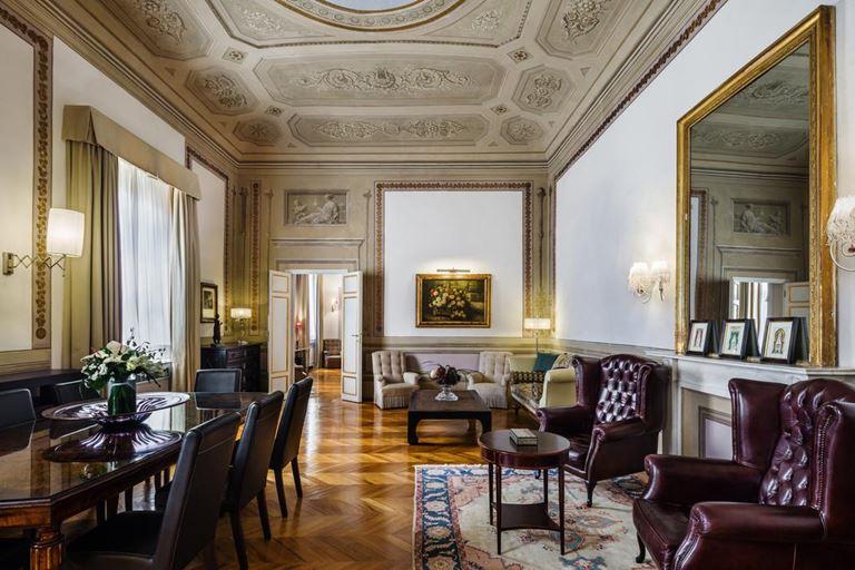 Отель Relais Santa Croce во Флоренции - номер Santa Croce Royal Suite