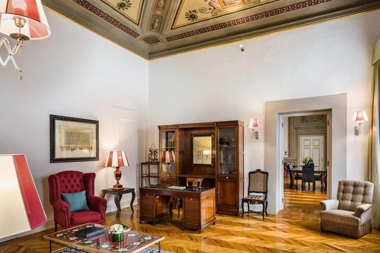 Отель Relais Santa Croce во Флоренции - номер De Pepi Presidential Suite
