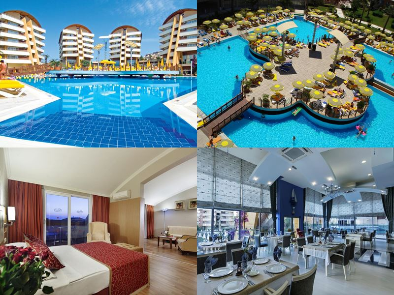 Лучшие отели Аланьи 5 звёзд «Всё включено» - Alaiye Resort & Spa Hotel в районе Тюрклер