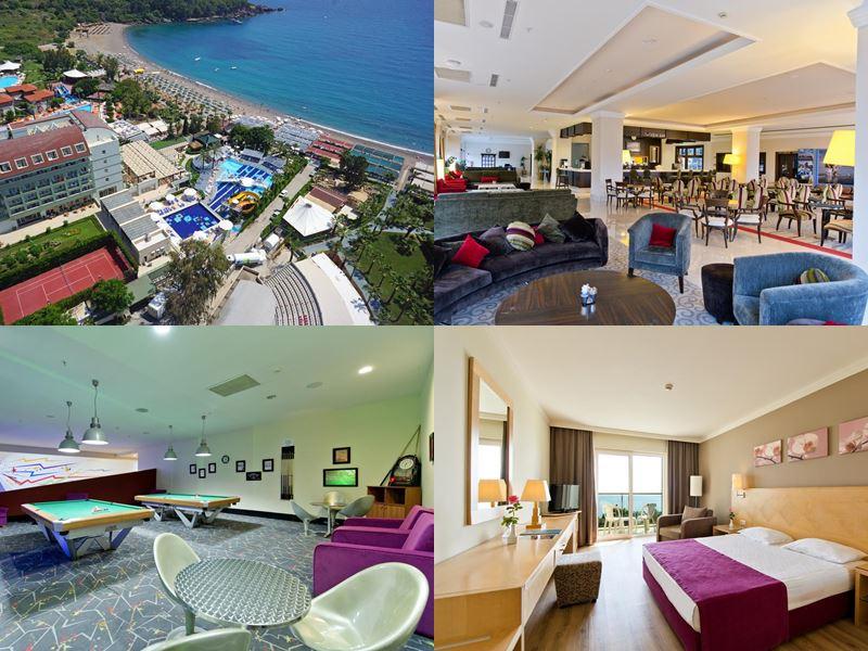 Лучшие отели Аланьи 5 звёзд «Всё включено» - Sealife Buket Resort & Beach Hotel в Окурджаларе