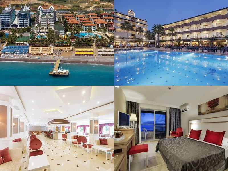 Лучшие отели Аланьи 5 звёзд «Всё включено» - Galeri Resort Hotel в Окурджаларе